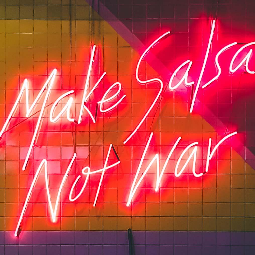 Make Salsa Not War